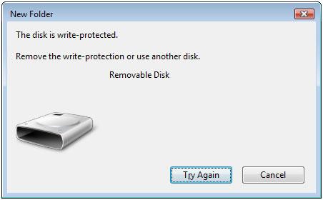 Memperbaiki Flash Disk yang menjadi Write-Protected