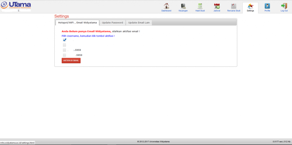 panduan email widyatama 1