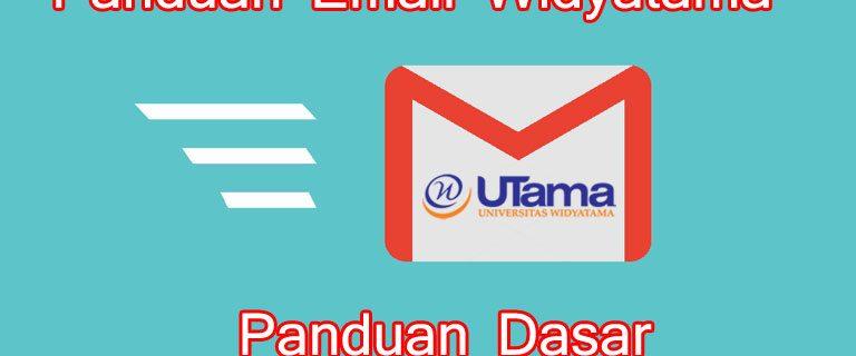 Panduan Email Widyatama