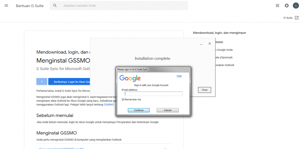 G Suite Sync for Microsoft Outlook