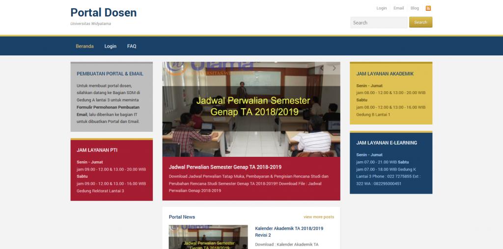 Portal Dosen - Universitas Widyatama
