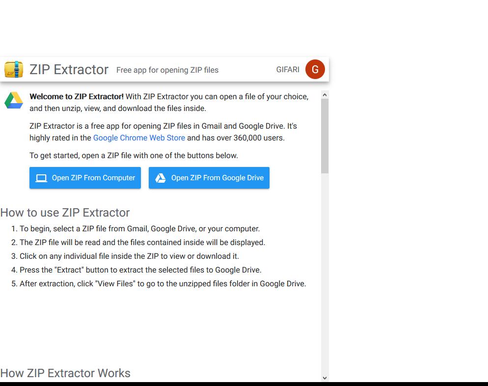 Cara Mengekstrak Zip Di Google Drive Pusat Teknologi Informasi